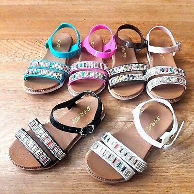 742dd6a159f9d BABY INFANT TODDLER girls Jelly flexible sandals size 6-9 -  6.99 ...