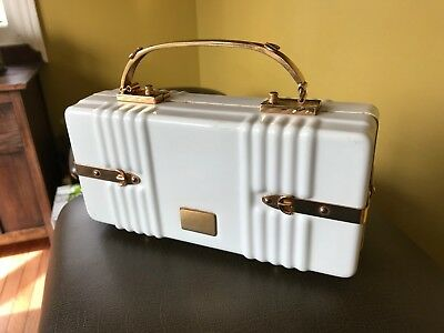 Vintage Designer celluliod or plastic purse Saks 5th Ave Art Deco