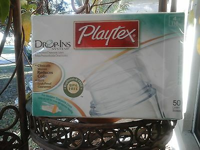 Playtex Disposable Feeding Bottle Liners 50  - 4 Oz Drop in