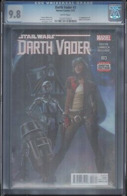 Darth Vader #3 Cgc 9.8 White Pages 1St Dr Aphra Star Wars First Print