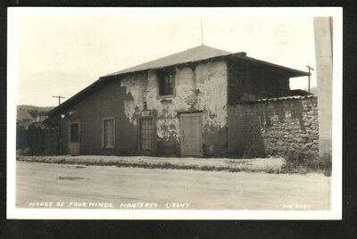 House Of Four Winds, Monterey (Rppc)