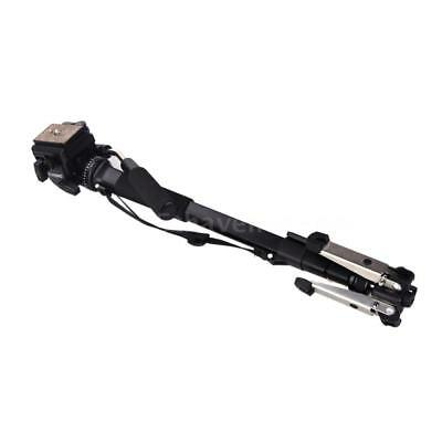 Yunteng VCT-288 Photography Tripod Monopod + Fluid Pan Head + Unipod Holder S8O9