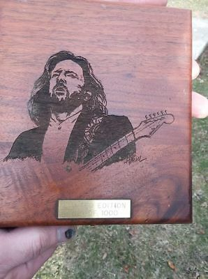 Eric Clapton Rare Unplugged Cd 1992 Special Edition Wooden Box #621/1000