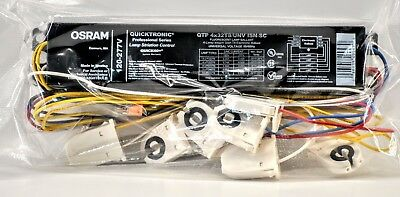 QTP 4x32T8/UNV ISN-SC Osram Sylvania 4 Lamp Ballast Any Count Free Shipping!