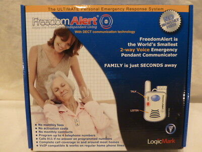 LogicMark Freedom Alert 35911 Personal Emergency Response System No Monthly Fees