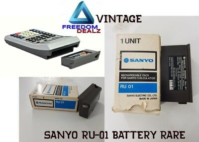Sanyo RU-01 Battery extremely rare only seen in the sanyo museum exclusive sale