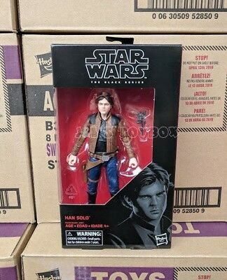 Star Wars Black Series Han Solo #62 Wave 16 2018 SOLO Movie - New In Stock MIB