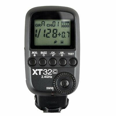 Godox XT32C HSS 1/8000s 2.4G Wireless Power Flash Trigger f Canon TT685C SK400II