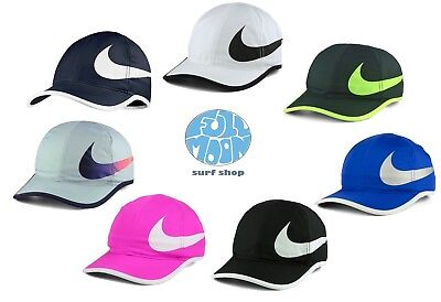 New Nike Aerobill DRI - FIT Featherlight Swoosh Tennis Running Hat Cap
