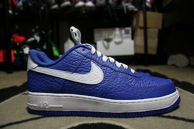 40ea163b2f48 New Nike iD Air Force One 1 Low NBA Dallas Mavericks Size 11 White Blue