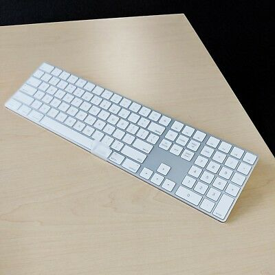 New Apple Magic Wireless Keyboard w/ NUM KeyPad Built-in Rechargeable Battery