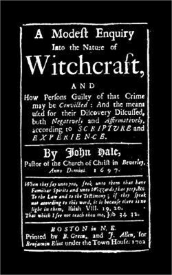 Modest Enquiry Into the Nature of Witchcraft (Paperback or Softback)