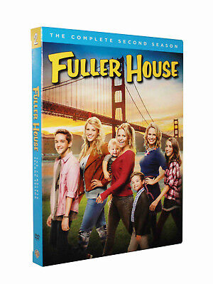 Fuller House The Complete First Season(DVD, 2017,2-Disc Set) Brand New Sealed