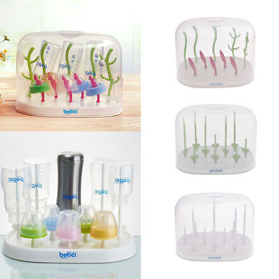 Infant Baby Bottle Dryer Rack Kitchen Cup Clean Drying Shelf Feeding Holder Rack