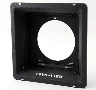 Excellent++ Toyo View Linhof Type Lens Board Adapter for 4x5 G, GII from Japan