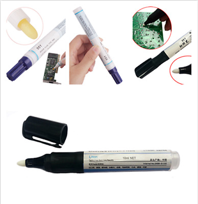 10ml Soldering Rosin Flux Pen Low-Solid Non-Clean Surface PV Solar Panel