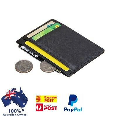 Men's Slim Wallet opal Card Holder , 6 Card Slots Slim Wallet Credit & ID Card