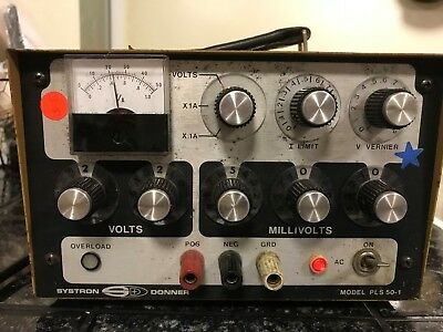 Systron Donner Pls 50-1 Power Supply