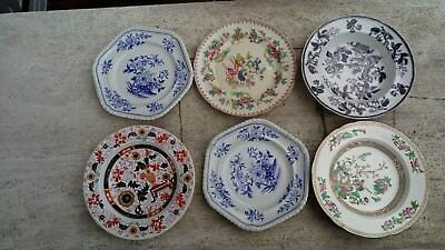 Various antique plates