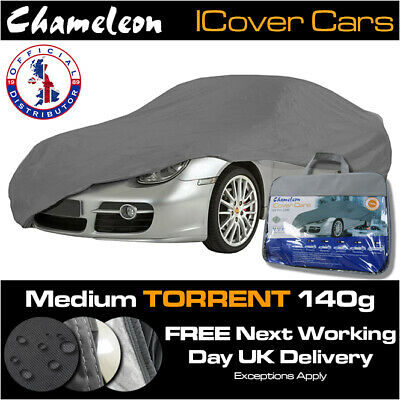 Medium Car Cover 100% Waterproof, UV Protection, Heavy Duty, Double Stitched