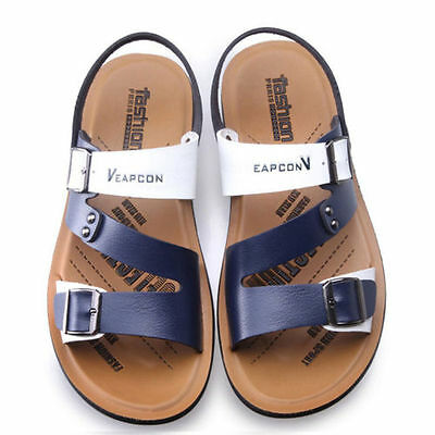 AU Cool Mens Shoes Sandals Slip On Summer Beach Casual Fashion Sport Slippers