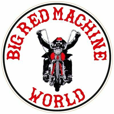 "HELLS ANGELS Support 81 Sticker Aufkleber ""Big Red Machine WORLD"" A01"