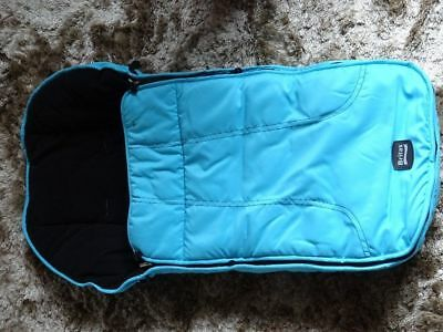 Britax Footmuff Blue - Ex Display