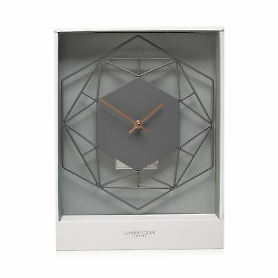 London Clock Grey Wall Clock