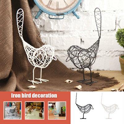 MODEL IRON Wire Bird Home Furnishing Ornaments Ornament Gift ...