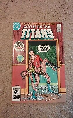 Tales of The Teen Titans #45  (1984) 2nd Nightwing app