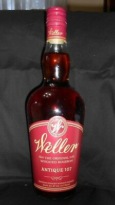 Weller Antique 107, Buffalo Trace Frankfort Kentucky 107 proof  750 ml