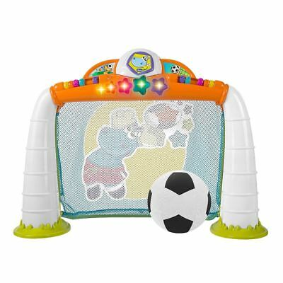 Chicco Fit N Fun Goal League Interactive Football Net Game / Toddler Soccer Net