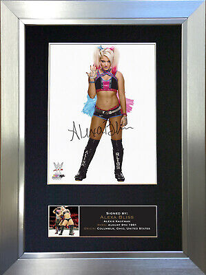 ALEXA BLISS Signed Autograph Mounted Photo Repro A4 Print 696
