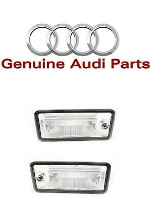 Audi A3 S3 A4 S4 A5 S5 A6 S6 A8 Genuine Led License Plate Lights