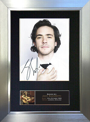 JACK SAVORETTI Signed Autograph Mounted Photo Repro A4 Print 704