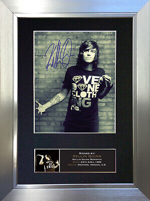 KELLIN QUINN Signed Autograph Mounted Photo Repro A4 Print 706
