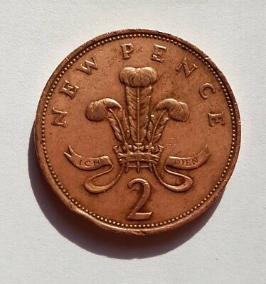 Extremely Rare 1979 2p New Pence Coin