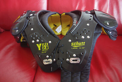 Schutt Youth Y Flex 2.0 All Purpose Football Shoulder Pads 801057 Large