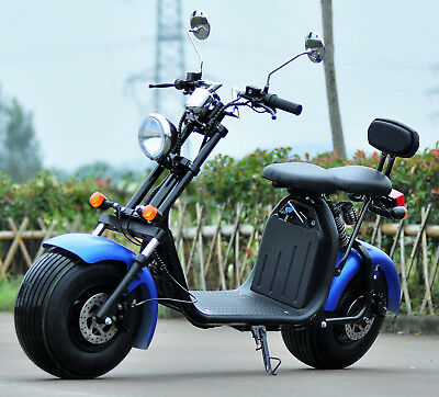 2 sitzer elektro scooter 1500w 20ah mit federung und. Black Bedroom Furniture Sets. Home Design Ideas