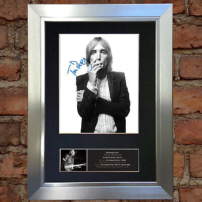 TOM PETTY Signed Autograph Mounted Photo Repro A4 Print 710