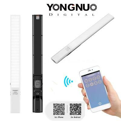 YONGNUO YN360S Dimmable Handheld 5500K LED Video Light Wand Bar APP Control F8G1