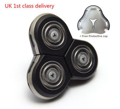 Replacement 3D Shaver Razor Blades Heads for Philips RQ10 RQ11 RQ12+ free cap