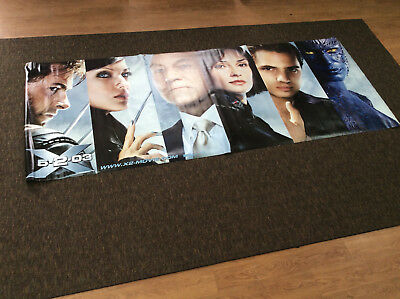 X2 X-MEN united 4x10' Feet Vinyl Movie Poster Banner