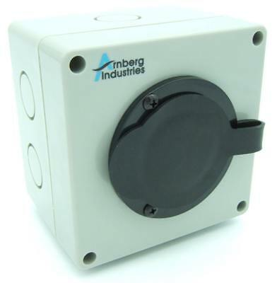 20 Amp Generator Inlet Box, AI-PB20 Power Cord inlet for transfer switch