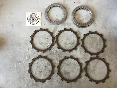 1972 Yamaha Dt2 Mx / Dt1 F 250 Clutch And Friction Plates