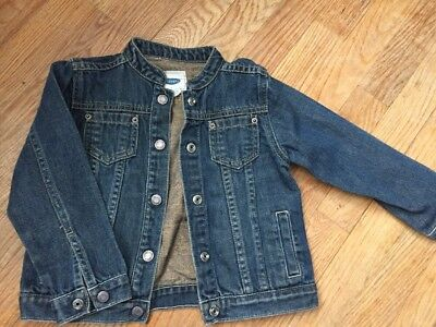 Old Navy Baby Boy Girl Jeans Jacket Size 4T GUC