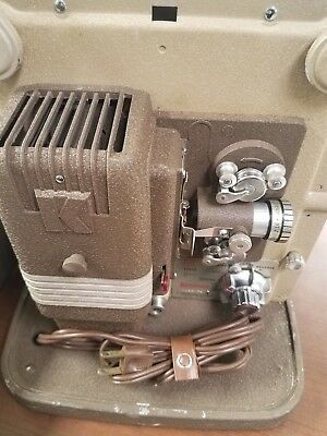 Keystone K100 8mm Film Movie Projector Working Condition