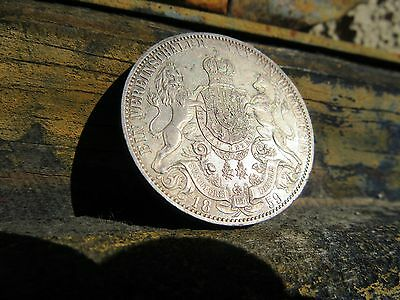 "1859 B Germany States-Hanover Thaler Silver ""proof Like"" ** Very High Grade **"