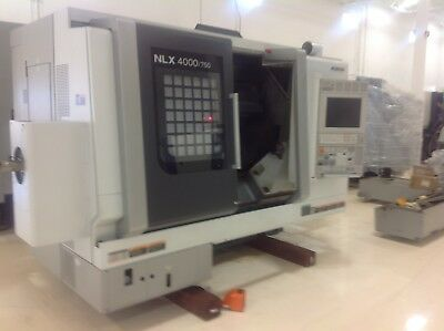 Used Mori Seiki CNC Turning Center Y Axis Live Tool Lathe M730BM 10,000 rpm 2014