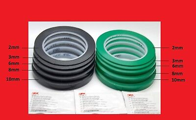 3M™ 471 Vinyl Tape Black, Green Masking Tape, Decoration Tape